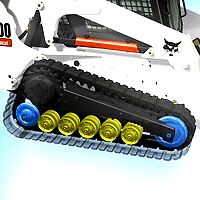 What to look for in Bobcat rubber tracks, idlers, sprockets, &rollers