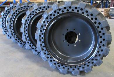 FlatProof Skidsteer Tires
