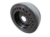 Smooth Flat proof solid rubber tire