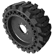 Flat Proof Skid Steer Tire