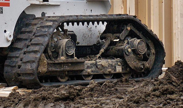 Loegering VTS replacement rubber tracks, convert from tires to tracks