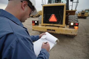 Safety Tips Operating Equipment