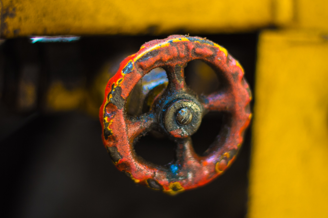 worn-turn-wheel-on-machinery